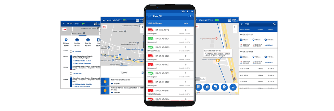 Fuel Monitoring & Vehicle Tracking Mobile Application